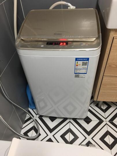 海尔(Haier) 全自动洗衣机波轮3公斤家用婴幼儿童内衣迷你洗衣机 烫烫洗 XQBM30-R818MY 晒单图