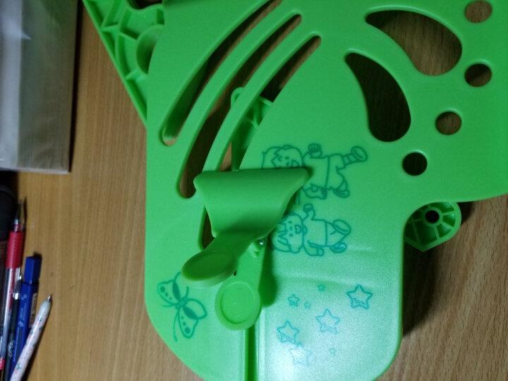 绍泽文化 读书架 绿色 小学生儿童看书架阅读架 多功能书立书靠夹书器书挡板 晒单图