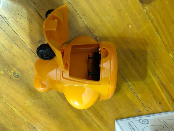 天王星(Telesonic)闹钟 创意学生时钟儿童卧室床头钟夜光闹表时尚小飞机客厅静音钟表玩具闹铃A1121-4橙色 晒单图