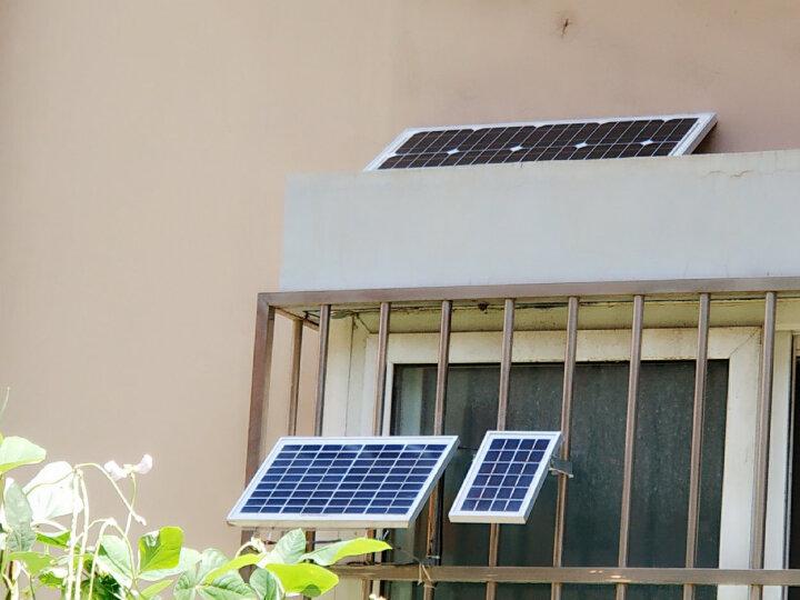 星火 20瓦单晶太阳能电池板充12V电瓶20w太阳能板发电板光伏户外专用 晒单图