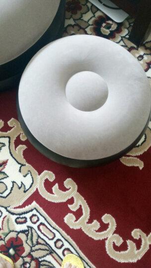 懒人沙发可爱创意植绒沙发懒人阳台躺椅单人充气沙发含 沙发+脚蹬+充气泵 晒单图