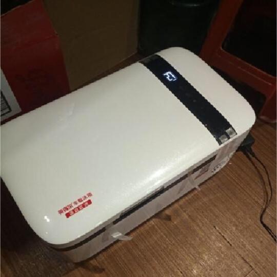 夏新(Amoi)6-20L车载冰箱制冷车家两用迷你小型冰箱家用学生宿舍化妆品母乳胰岛素单双门式冷暖箱 6L单核白色(车家两用) 晒单图