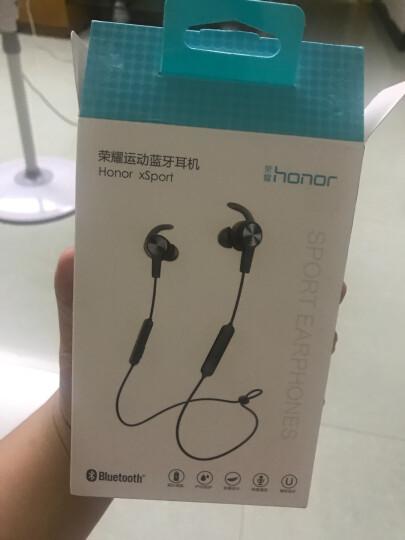 荣耀运动蓝牙耳机AM61无线跑步音乐防水 华为磁吸款 双耳立体声双耳 通用 可通话 超长续航 幻夜黑 晒单图
