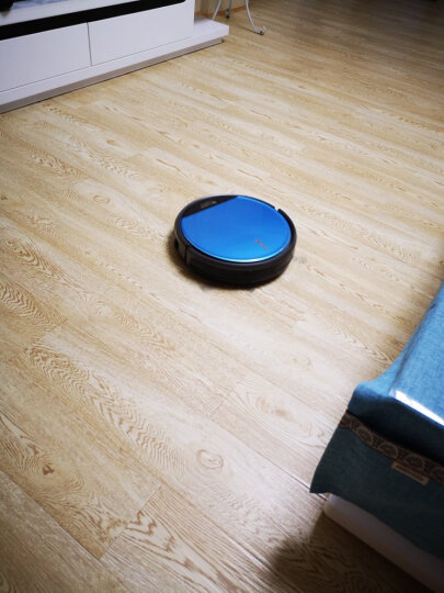 浦桑尼克(Proscenic)811GB扫地机器人智能电控水箱家用吸尘器自动拖地擦地一体机超薄 宝石蓝 晒单图