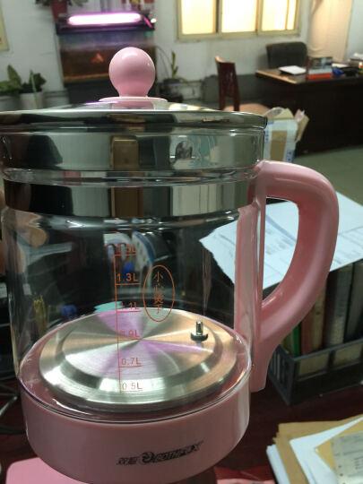 双狐(Bothfox)养生壶加厚玻璃多功能花茶壶煮茶器全自动烧水壶KT-802 1.5L 玲珑粉玻璃面板 晒单图