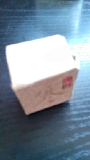 书剑古茶 寒玉清心 月光白茶 普洱茶生茶 纯手工小沱龙珠 7克/粒 6粒红盒装 晒单图