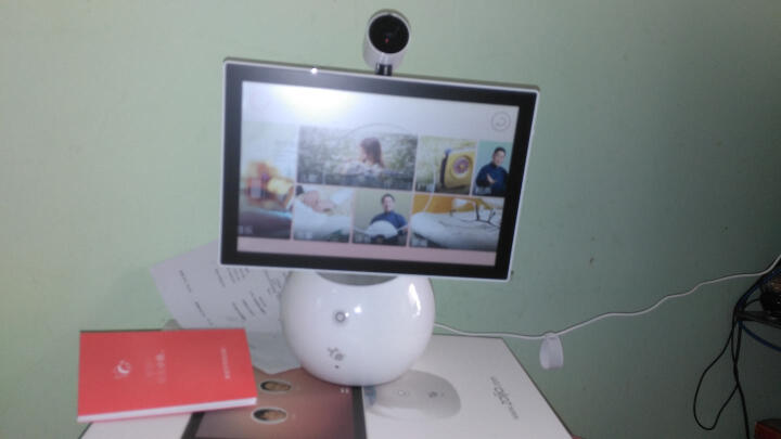 小鱼在家机器人智能机器人 分身鱼视频通话儿童早教语音对话聊天声控智能家居 分身鱼1s套装 晒单图