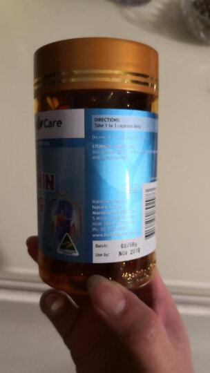 【澳洲直邮 】Healthy Care大豆卵磷脂胶囊100粒 保护肝脏降血压血脂 3瓶包邮价 晒单图