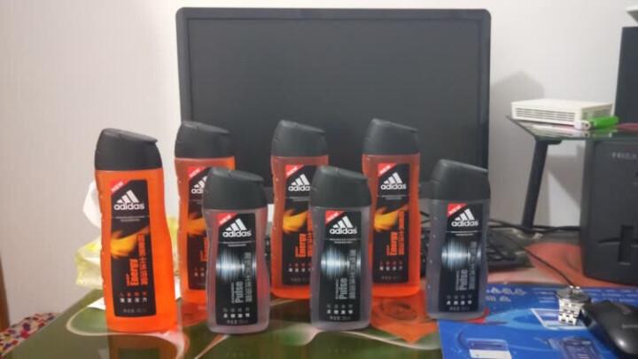 阿迪达斯(Adidas)男士清风香波沐浴露400ml 持久留香控油香波沐浴露 晒单图