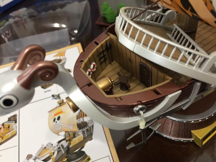 万代(BANDAI) 万代海贼王船拼装模型手办 海贼船 【成品】超合金梅丽号 19290 晒单图