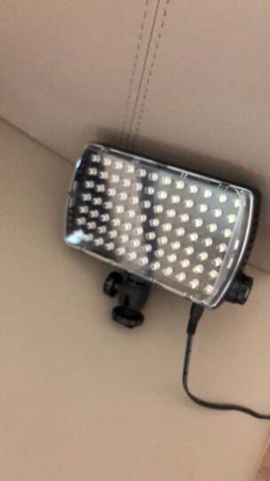 曼富图ML840H-1摄影摄像补光LED灯84颗灯珠内置锂电池含滤光片 晒单图