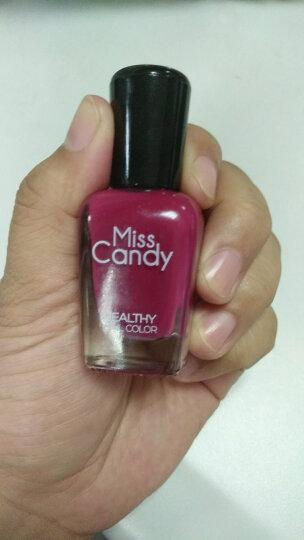 MissCandy健康指彩可剥指甲油 显白 美甲 樱桃粉 Z12 16ML 晒单图