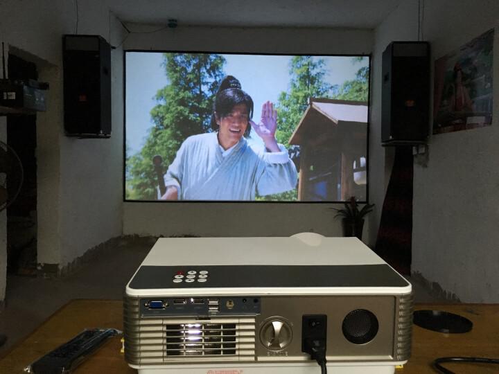 Rigal 瑞格尔led投影仪家用办公高清1080p无线wifi投影机全高清电视3d迷你便携影院 智尊版 带WiFi 蓝牙 晒单图