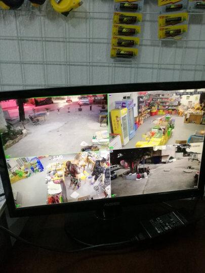 dahua大华监控摄像头200万POE网络高清室外防水家用/商用H265红外夜视半球拾音监控设备套装 5路套装+可付费上门安装 2TB监控盘 晒单图