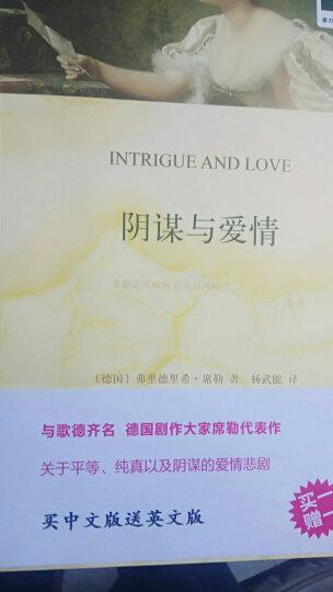 双语译林 壹力文库:阴谋与爱情 晒单图