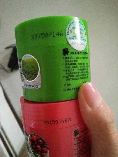 百龄(Smiling) 洁克洁牙粉40g(果清 茶清 台湾进口2瓶 晒单图