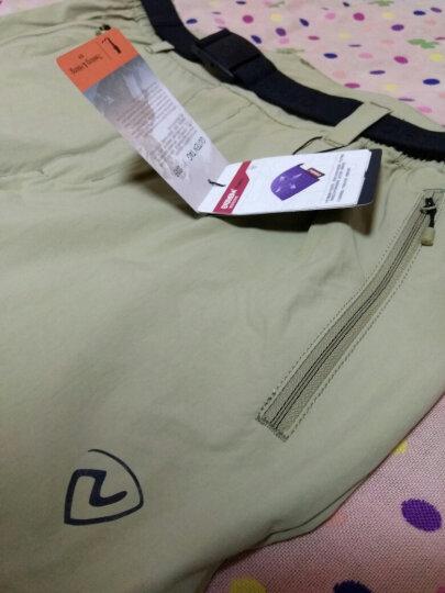诺诗兰 NORTHLAND 卓尔男式快干排汗弹力短裤 GQ065935 羽蓝色 L(175/78A) 晒单图