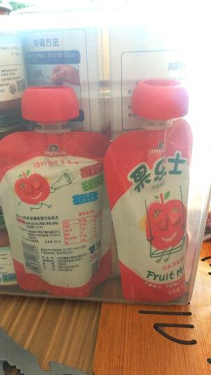 果乐士 草莓香蕉可吸果泥90g*9安德鲁宝宝儿童食品99.9%水果+0.1%vc 晒单图