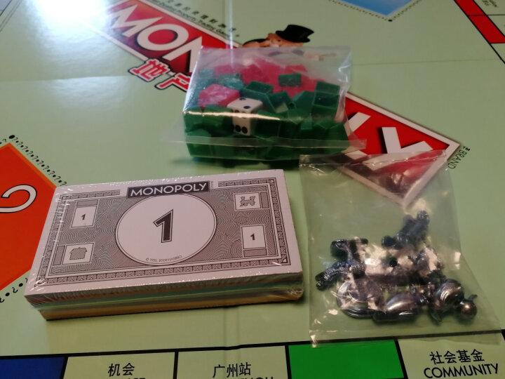 孩之宝(Hasbro) 地产大亨大富翁强手棋中英双语桌游聚会互动益智玩具 权利的游戏E3278 晒单图