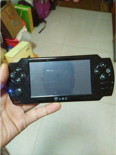 霸王小子psp掌上游戏机掌机 PSP俄罗斯方块儿童益智怀旧大屏街机电玩掌机 4.3英寸触屏蓝色8G内存 晒单图