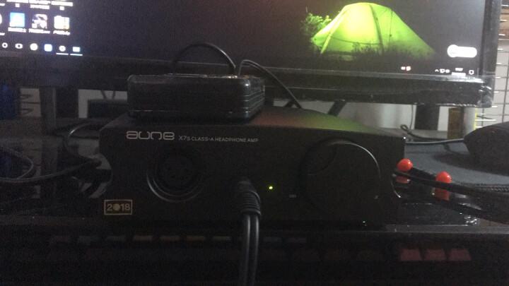 aune X7S 台式耳放 耳机放大器 甲类平衡耳机功率放大器 发烧级大驱动三挡增益 2018新款 X7S 2018新款 黑色 晒单图