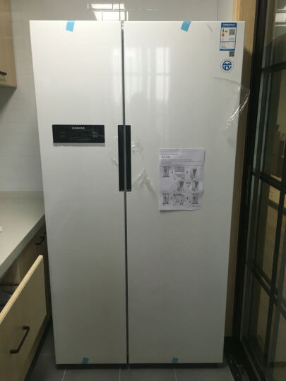 西门子(SIEMENS) BCD-610W(KA92NV02TI) 610升 变频风冷无霜 对开门冰箱 LED显示 速冷速冻(白色) 晒单图