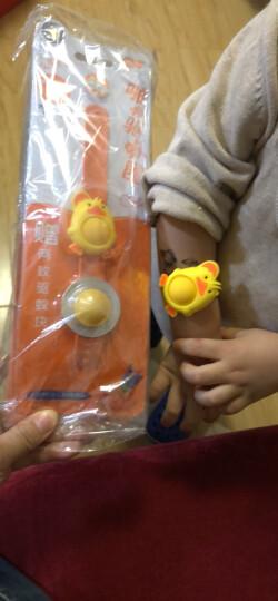 POKO 婴幼儿啪啪驱蚊圈×2条 宝宝儿童驱蚊手环 植物硅胶驱蚊手带 颜色随机 晒单图