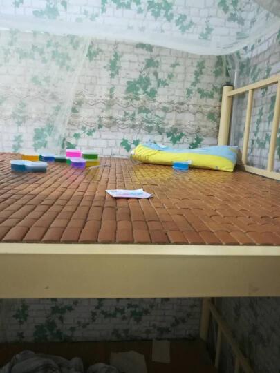 虹语荷 墙贴墙纸壁纸 素色墙纸自粘 客厅卧室电视背景墙壁纸 自带胶直接贴墙纸 壁纸电视背景 蓝天白云 0.45*10米 晒单图