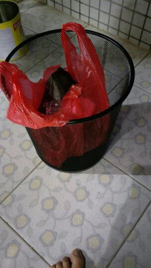 蕊之魅 黑色简约垃圾桶金属网面废纸篓无盖 中号*5个 铁丝网垃圾篓 晒单图