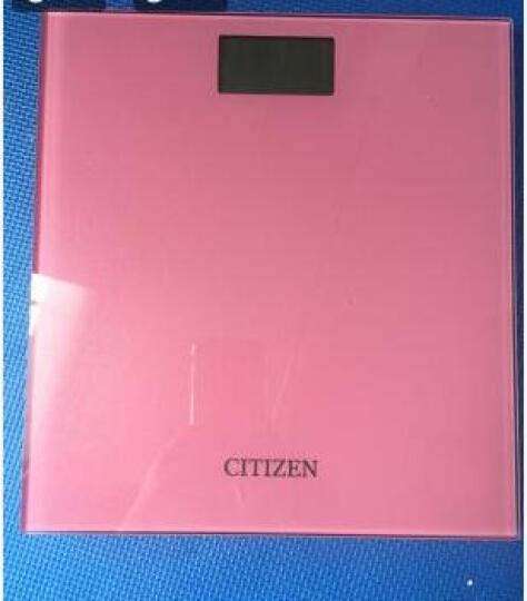 西铁城(CITIZEN)电子体重秤 电子秤人体秤 家用智能健康秤 纳米新款精准称HMS309(粉色) 晒单图