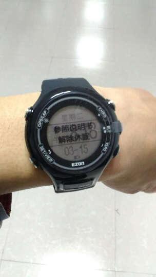 宜准(EZON)运动手表男智能GPS飞利浦动态光心率表跑步时尚轻薄户外蓝牙电子表e1hr E1HR-B13绿 晒单图