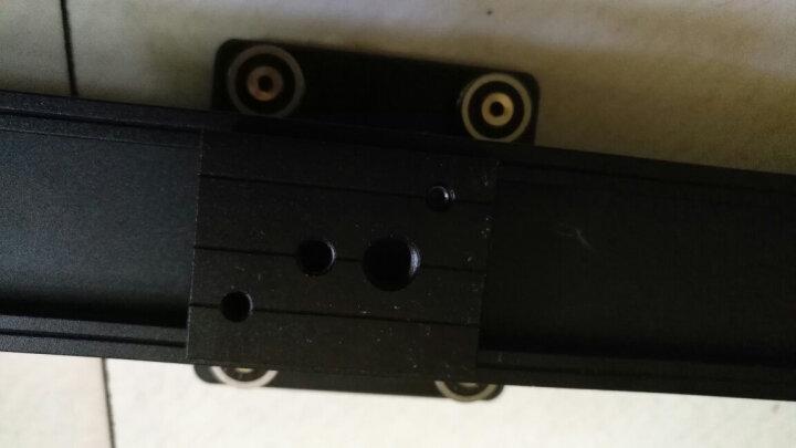溯途 电动滑轨 单反相机5D3摄影摄像电控轨道微电影定时拍摄滑道阻尼逐格滑轨 App控制 80cm电动滑轨 +球形云台 晒单图