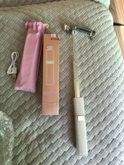 毕亚兹 无线蓝牙自拍杆 迷你口红版 无线蓝牙 自拍神器 适用于苹果/三星/华为手机 U19-白 晒单图