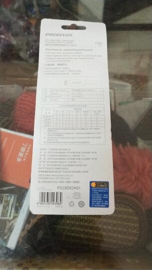 品胜(PISEN)锌合金苹果数据线 8/7/6/5s手机充电线 1.5米 玫瑰粉 适用于iphone5/6s/8/7Plus/X/ipad pro 晒单图