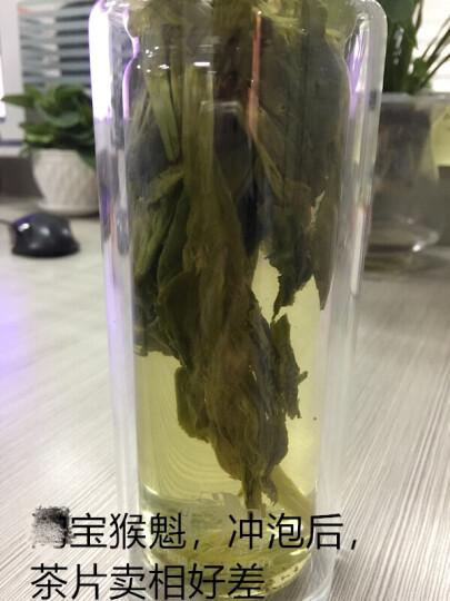 【满199减100买2送杯】打鼓岭 太平猴魁 特级2018新茶100克/罐茶叶春茶绿茶礼盒 晒单图