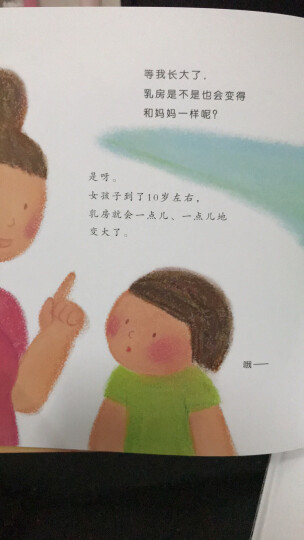 蒲蒲兰绘本馆:小鸡鸡的故事+乳房的故事(套装共2册) [3-6岁]【精】HB 晒单图