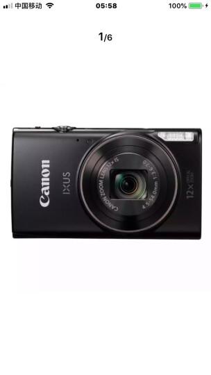佳能(Canon)IXUS 285 HS 数码相机(2020万像素 12倍光学变焦 25mm超广角 支持Wi-Fi和NFC)黑色 晒单图