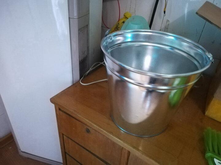 欧丽家 加厚铁皮桶铁桶水桶大号加厚型汽油桶化工大号收纳铁桶大铁桶 大号15升 晒单图