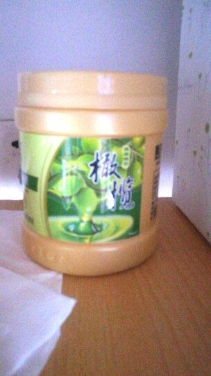 买2送1 霸王丝滑柔顺发膜倒膜营养护发素 烫染修护植物精华橄榄免蒸焗油膏500g 晒单图