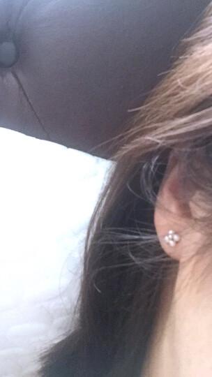 周生生点睛品18K金耳钉红色黄金Daily Luxe Akoya珍珠耳钉耳环 88294E 晒单图