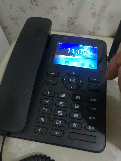中诺(CHINO-E)C265移动版 插卡电话机移动座机无线电话插卡座机固定办公家用固话无线座机无绳会议 黑色 晒单图