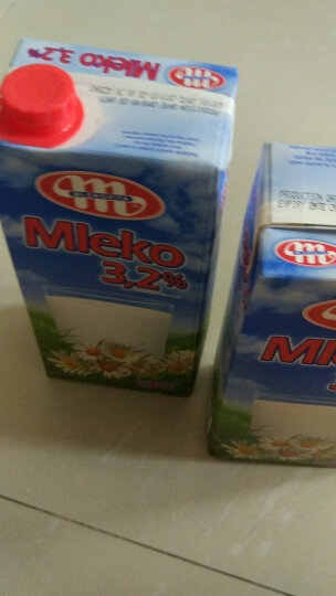 波兰 妙可(Mlekovita)原装进口牛奶 全脂纯牛奶箱装 250ml*12 晒单图