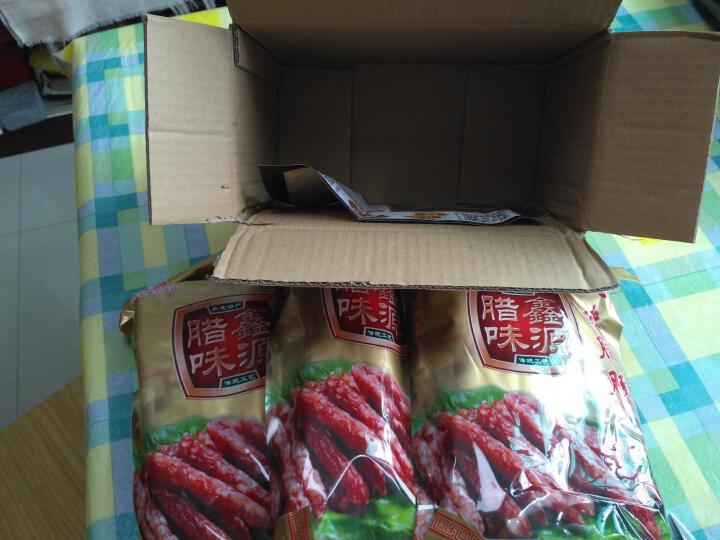 【东莞馆】鑫源广式腊肠 8分瘦广式香肠 广式非烟熏原味腊肠 美味肠7分瘦400克 晒单图