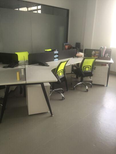 【丞懿】电脑椅 办公椅 家用电脑椅子升降转椅座椅人体工学椅 黑色 草绿色 晒单图
