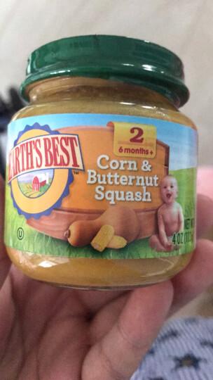爱思贝(EARTH'S BEST) 地球世界进口婴儿辅食蔬菜泥宝宝营养佐餐泥果泥 有机糙米扁豆泥1瓶 晒单图