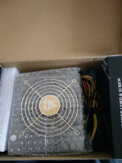 台达(Delta)额定650W NX650电源(80PLUS铜牌/全电压/12CM温控静音风扇/支持背线/主动式PFC/三年质保) 晒单图