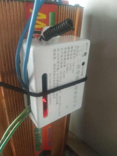 拓安达12V两路无线遥控开关电机电灯家电远距离控制器配外壳 继电器信号输出 一个遥控器一个接收器 晒单图