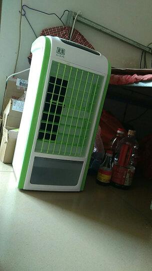 迷你空调扇冷风扇加湿制冷机 学生宿舍便携式小空调制冷电风扇冷气扇微型小型空调家用办公室无叶无扇叶风扇 YS46遥控款/绿色 晒单图