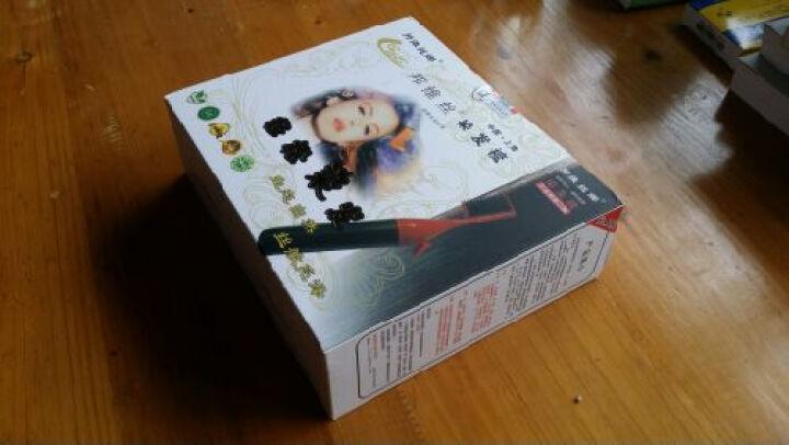邦维丝 上海泡沫染发梳子含4管泡沫染发膏魔法梳白发一梳黑一撮黑染发剂染头膏礼盒包邮 棕红-1 呈栗色 晒单图
