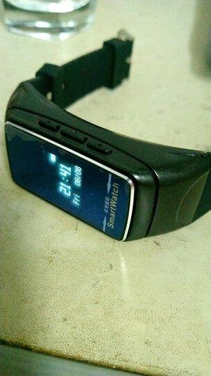智能手环蓝牙耳机可通话运动计步防水男女测心率健康监测手表华为OPPO苹果VIVO 黑色 晒单图